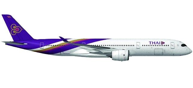 HERPA HER558174 - Airbus Thai Airways Airbus A350-900 XWB  1/200
