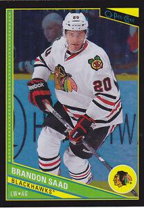 13-14-OPC-Brandon-Saad-100-Rainbow-Black-OPEECHEE-Blackhawks-2013