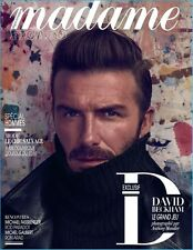 Madame Figaro Magazine French David Beckham Michael Fassbender Rod Paradot Arad
