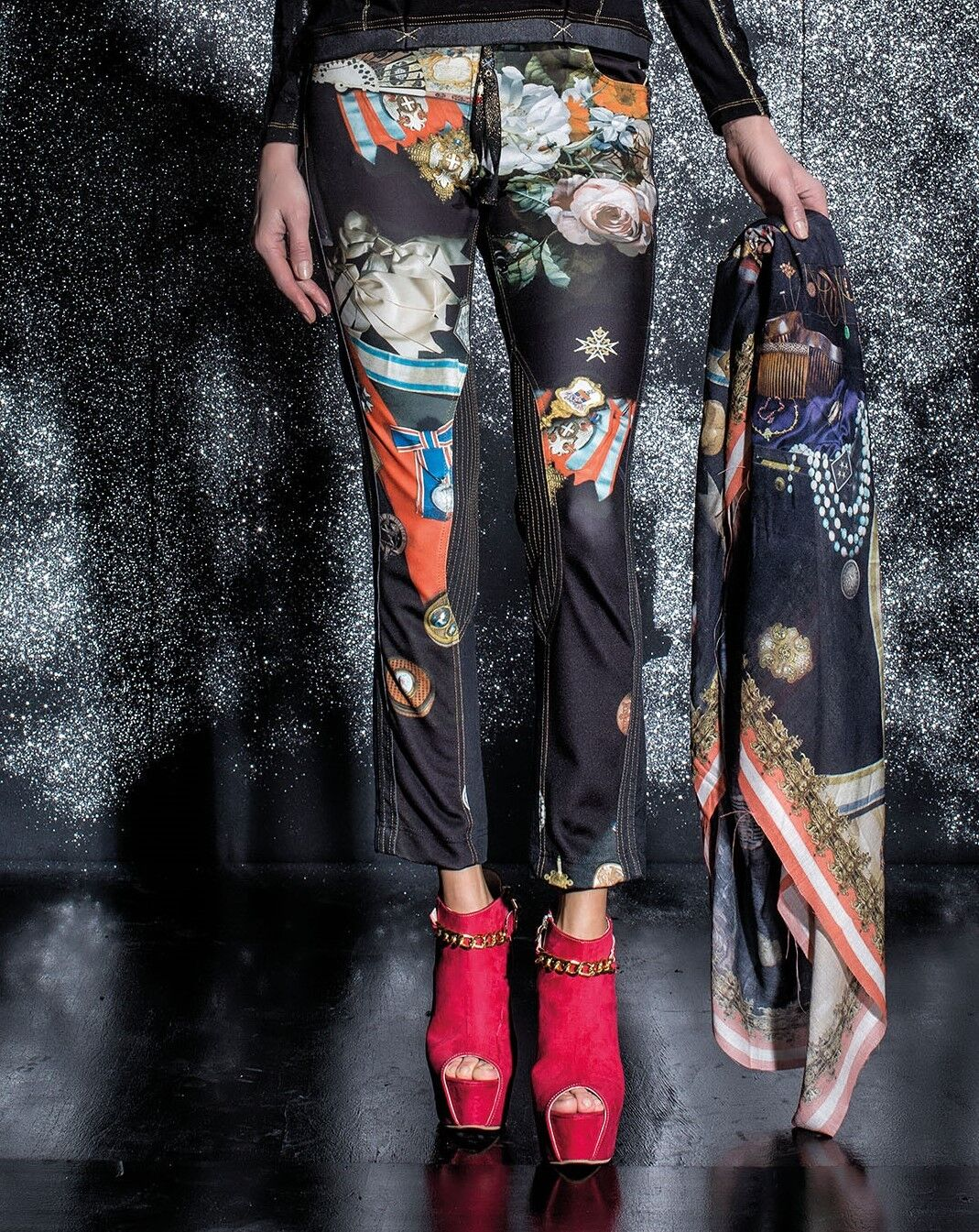 ELISA CAVALETTI Hose Jeans Trousers St. Stemmi Gr. 27, 28, 31 Koll. HW 16 17