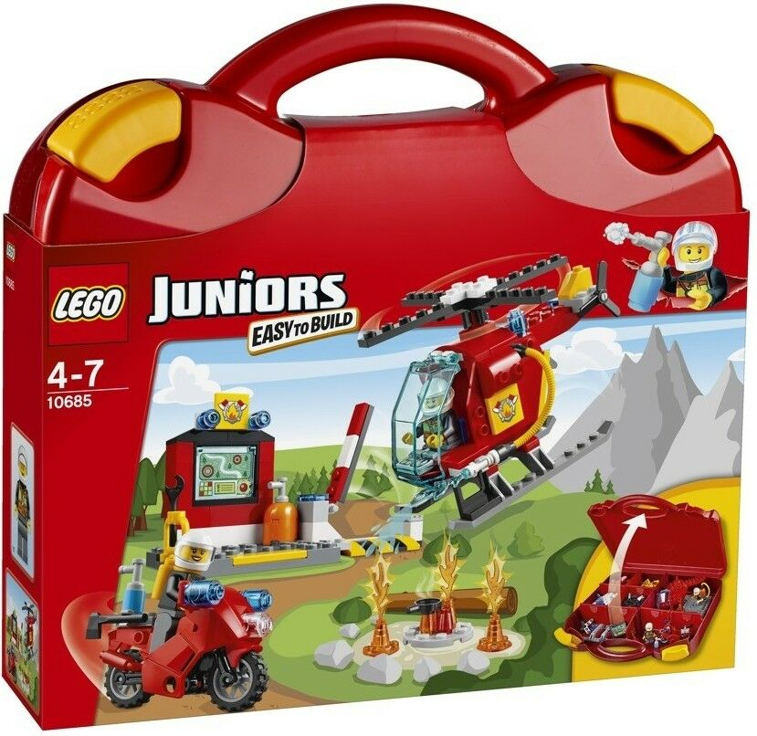LEGO 4 Juniors Pompiers-Valise (10685) new neuf dans sa boîte En parfait état, dans sa boîte scellée RAR