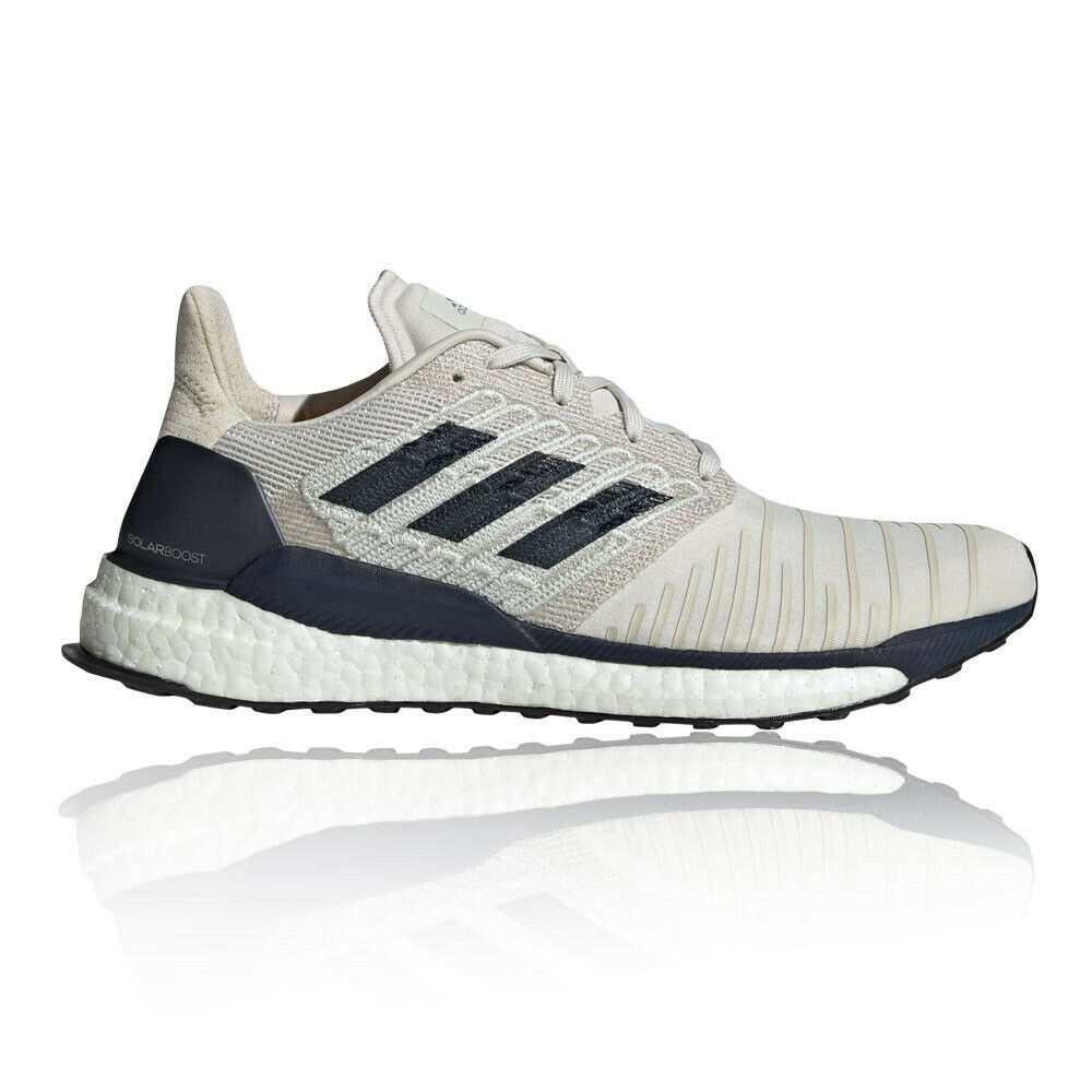 Adidas Mens Solar Boost Running shoes Trainers Sneakers White Sports Breathable