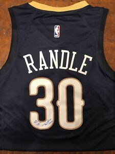 timeless design a6973 a77a9 Details about Julius Randle Signed New Orleans Pelicans Jersey Proof Coa  Autographed Lakers
