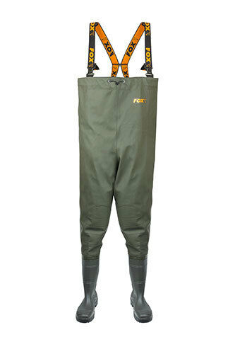 FOX NEW Chest Fishing Waders Carp - 700g Heavy Duty Fabric - All Größes
