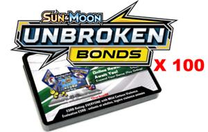 100x Sun and Moon Unbroken Bonds Code Pokemon PTCGO Online SENT IN GAME FAST!