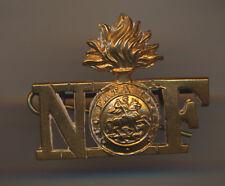 Northumberland fusiliers   infantry regiment shoulder title  C7