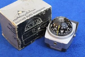Vintage-Airguide-Nomad-79C-Compass-Auto-Truck-Boat-Accessory-Dash-Fits-GM-Ford