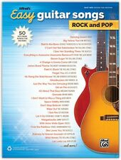 Alfred's Easy Guitar Songs: Rock and Pop, Easy Hits Guitar TAB Songbook