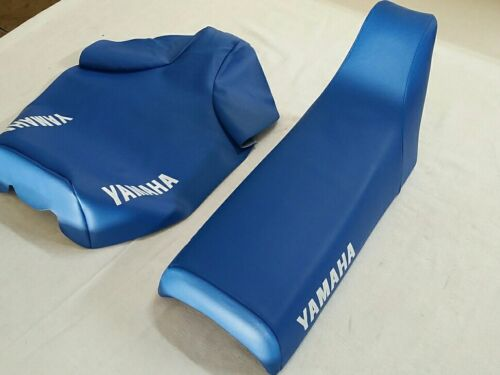Y85--n4 YAMAHA PW80 1983 TO 2010 MODEL REPLACEMENT SEAT COVER BLUE