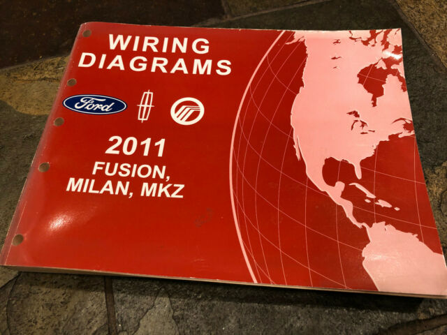 2011 Ford Fusion Lincoln Mkz Milan Wiring Diagrams