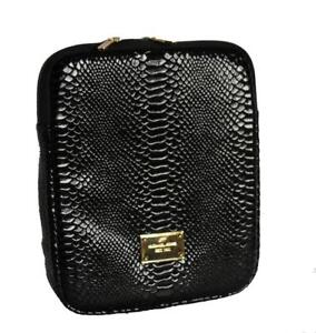 Details about MICHAEL KORS Black Leather PYTHON / SNAKESKIN iPAD Padded  Sleeve Case NEW DISC