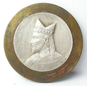 Medalla-prueba-prueba-de-artista-San-Remi-de-Reims-c1920-AJ-Corbierre-Medal