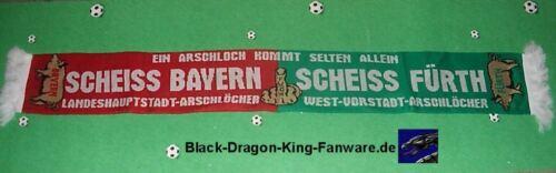 """kommt./"""" Kutte Fan Kurve Block 150x15 cm neu Anti Bayern und Fürth Schal /""""Ein A"""