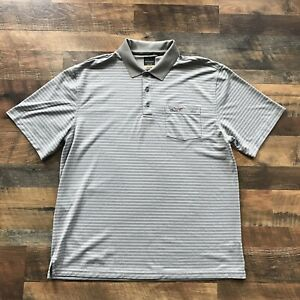 be4a4fa3f Greg Norman For Tasso Elba Men s XL Polo Golf Shirt Play Dry Five ...