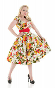 Hearts-and-Roses-London-Mix-Floral-Summer-Fall-Party-Swing-Rockabilly-Dress