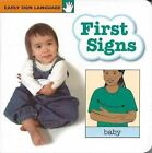 First Signs Board Book by Stanley Collins (Board book, 2002)