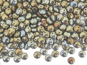 50-brown-iris-offset-hole-lentil-Czech-glass-beads-6mm-6lnt21515