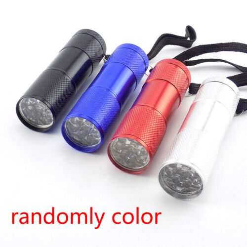 Mini LED Flashlight White AAA battery Small Flash Torch lamp Light High power