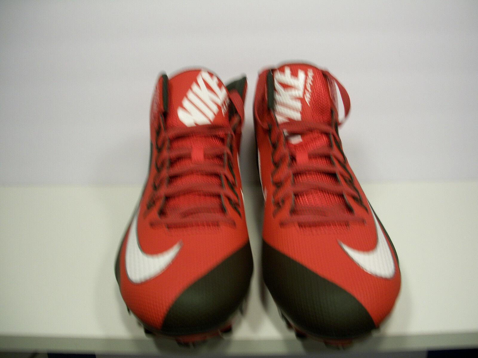 NIKE Alpha Pro II 3 4 TD Football Cleats Cleats Cleats Red Black 729444-630 Size 16 b06ce9