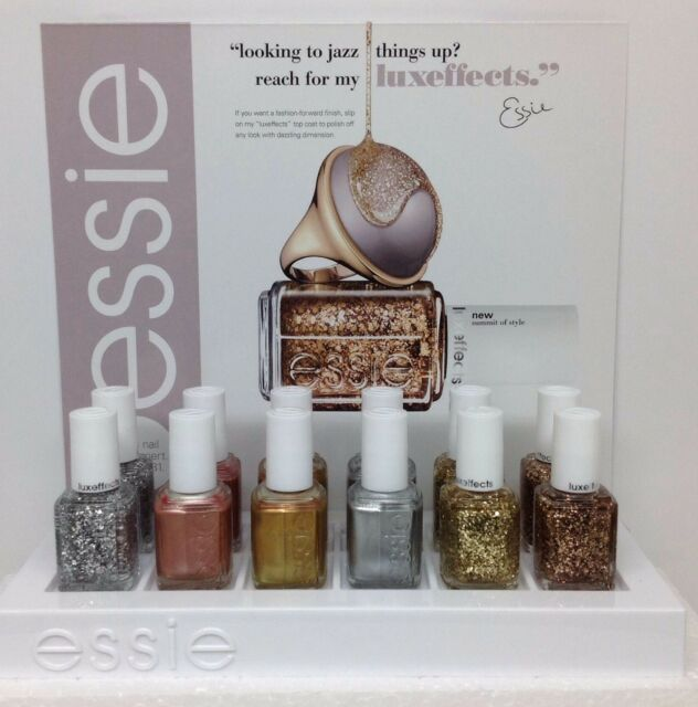 ESSIE NAIL LACQUER - LUXEFFECTS Collection 2014 -13.5ml /.46 oz-Pick any Color