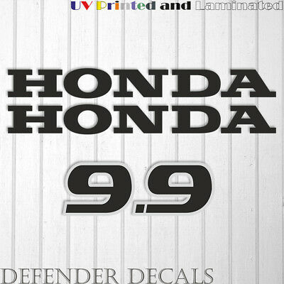 Honda 25 hp Four Stroke outboard engine decal sticker set reproduction