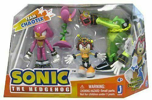 Sonic The Hedgehog equipo Chaotix Jazwares Figuras de Acción Juguetes Nuevo Rareza