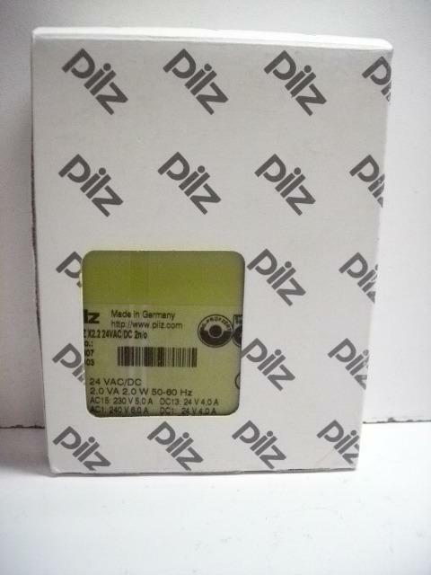 PILZ PNOZ X2.2 24VAC DC 2N O SAFETY RELAY NEW IN BOX