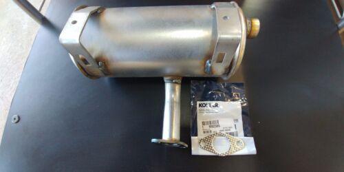 M92365 JOHN DEERE NEW MUFFLER WITH GASKET AM119635