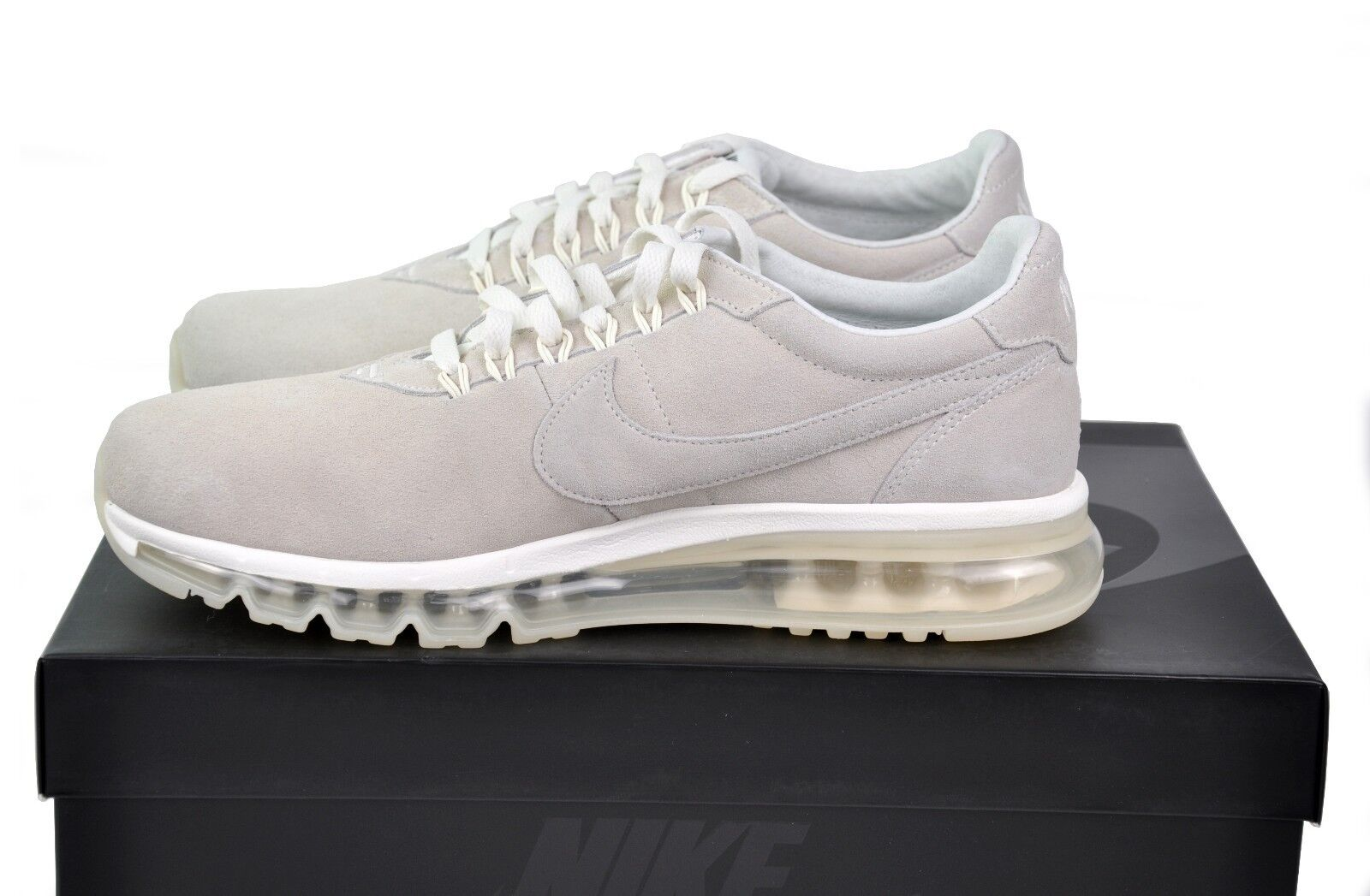 Nike Air Max LD-Zero Men's US Size 9.5 MSRP  210 Suede Leather 848624-100 Sail