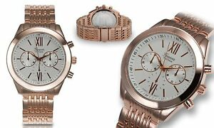 NEW-Geneva-Platinum-4628-Men-Signature-Collection-Rose-Gold-Classy-Fashion-Watch