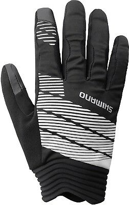 Black Original Long Gloves XX Large Shimano Men/'s