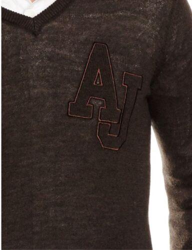 Xl Fit uomo Giubbotto taglia anteriore Jeans Slim Logo da Armani 0zxCwpqv