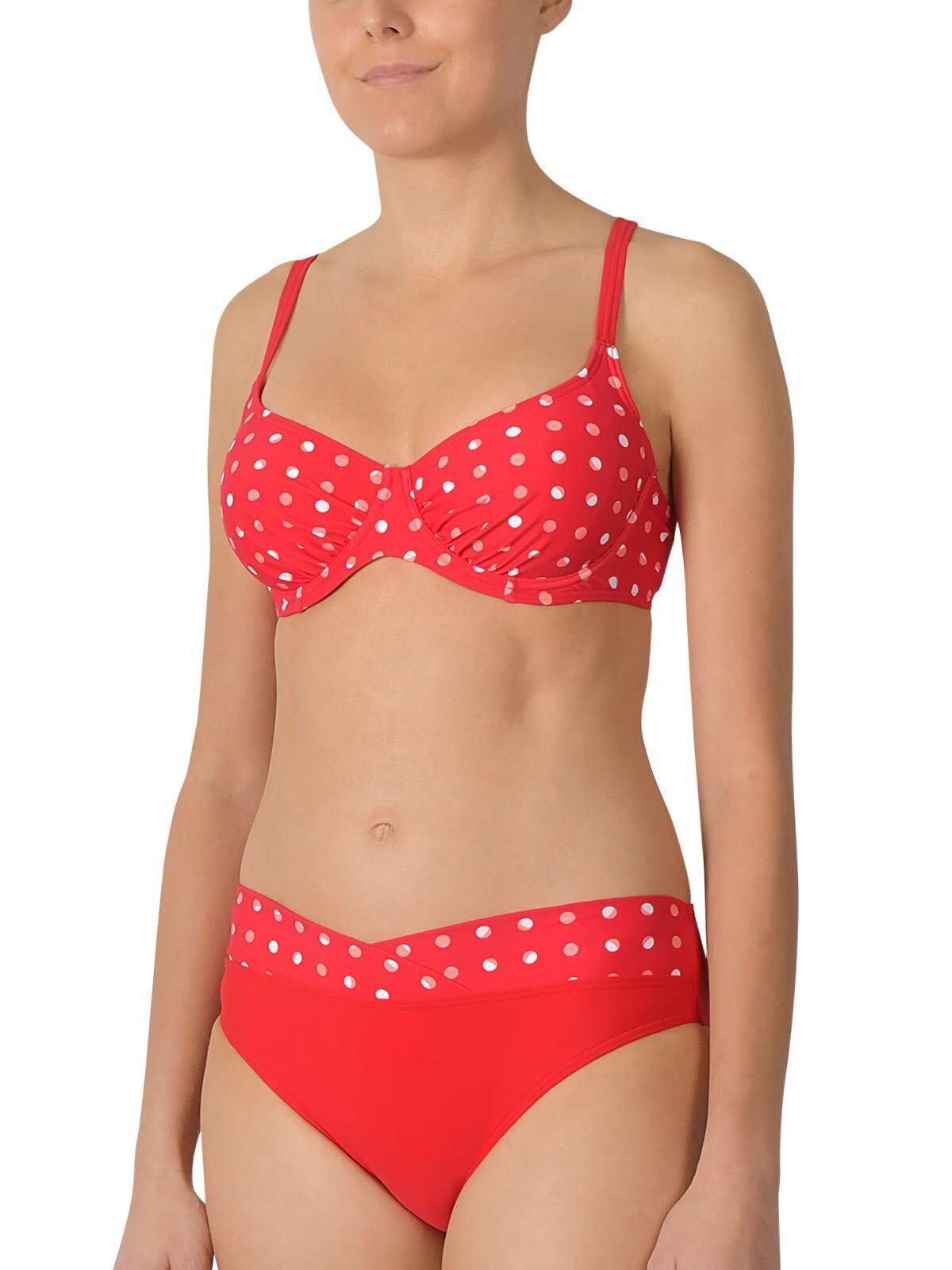 NATURANA Bügel Bikini 72499 Gr. 36-48 B-G in red oder black