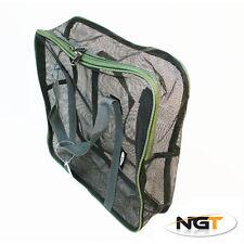 NUOVO NGT grandi Air Dry Boilie Bag 36x11x36cm Carpa / Barbel pesca affrontare 10KG NGT