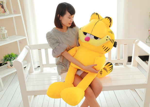 Giant Garfield Toy Jumbo Odie Cat Plush Soft Stuffed Animal Doll Kids Gift 40