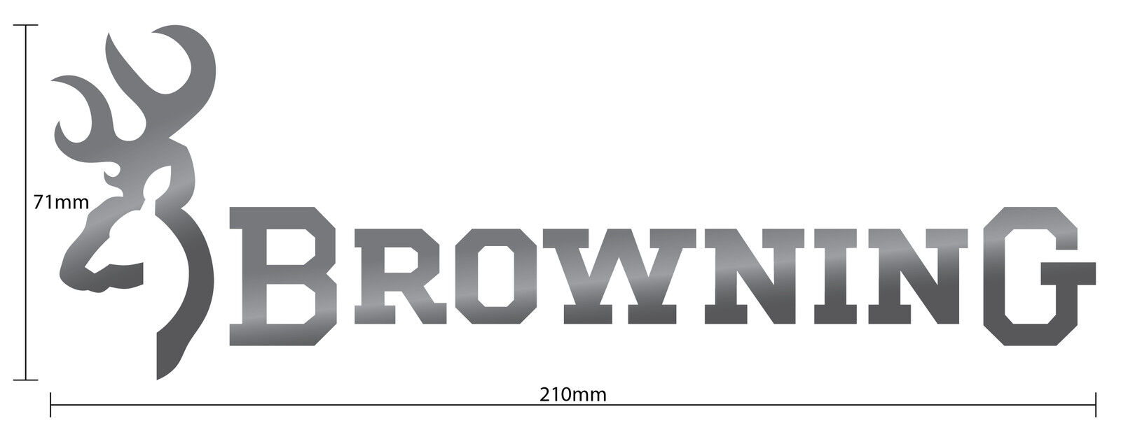 Browning Vinyl Decal Sticker Directoutfittop - Browning vinyl decals