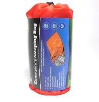 Lot Of 4 Emergency Sleeping Bags Heavy Duty Mylar Camping Hiking Survival Kit