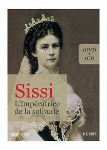 SISSI-IMPERATRICE-DE-LA-SOLITUDE-DVD-CD-AUDIO-NEUF-SOUS-CELLO