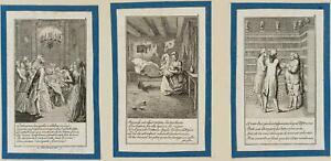 Chodowiecki (1726-1801). 12 fogli morale e satyrischen contenuto