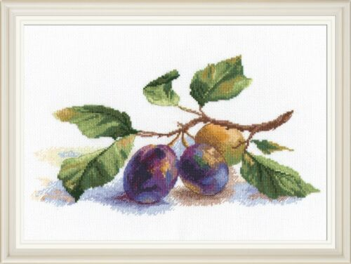"""/""""A twig of the plum/"""" Cross Stitch Kit OVEN 973"""