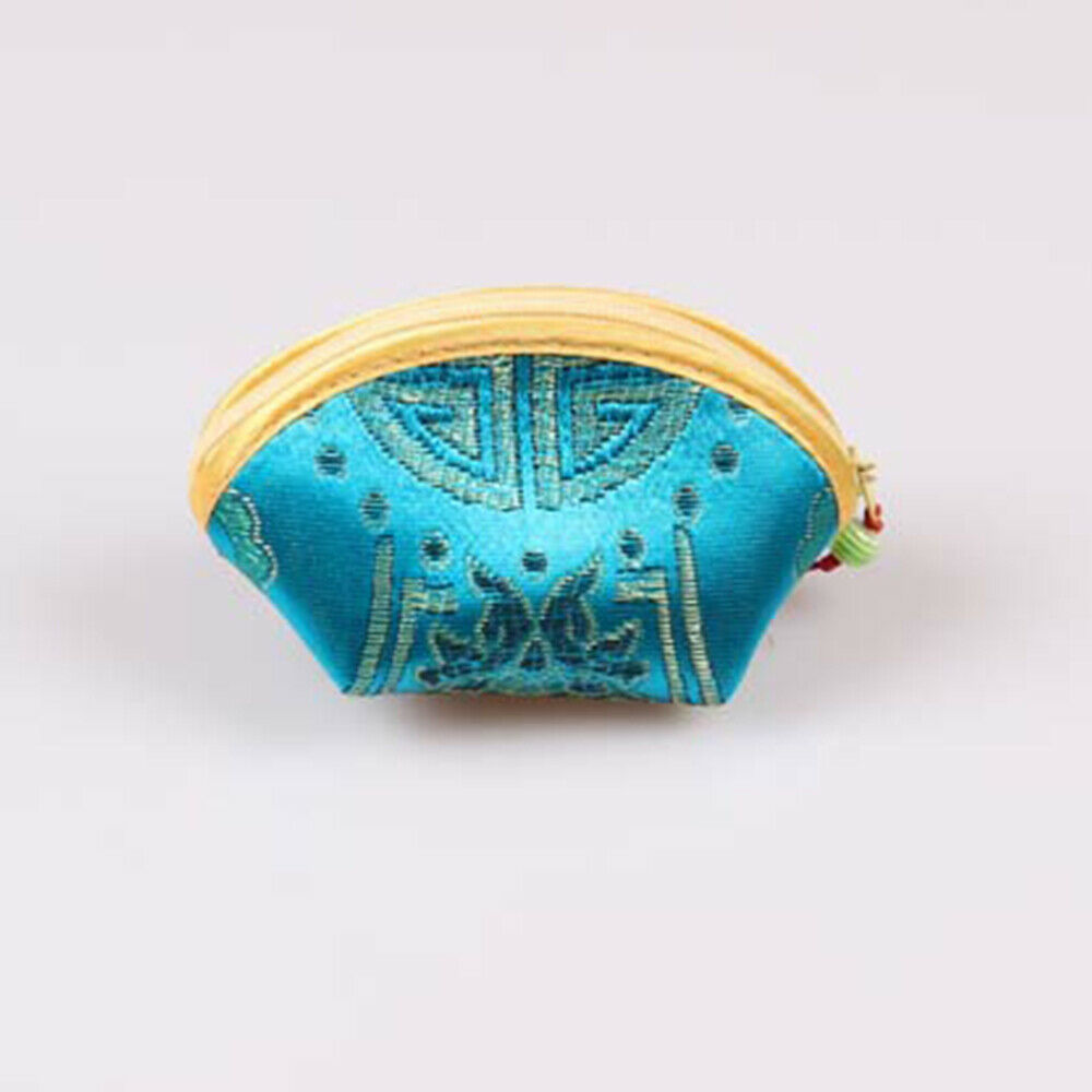 12pcs Coin Bag Creative Chinese Style Vintage Party Purse for Girls Women