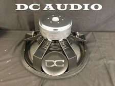 "DC AUDIO Level 4 18"" 1 ohm Dual Voice Coil Subwoofer 1400/2800 Watt NEW"
