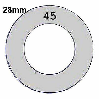 28mm Self Cover Template for Flat / Shank back Self Cover Buttons Tool only 45L