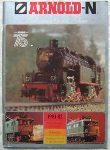 ARNOLD-N-Bahnspass-Erster-Klasse-1981-82-Katalog