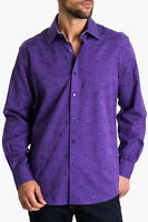 2014 Zagiri The Sixth Sense Purple Sport Dress Shirt Kml-2424 $155 M & L