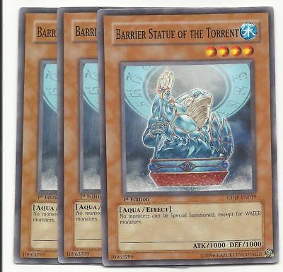 YUGIOH Barrier Statue of the Torrent CDIP-EN019 1ST EDITION NEW!