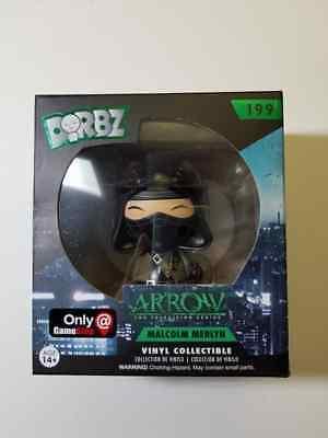 Dorbz Arrow Malcolm Merlyn GameStop Exclusive #199 Funko