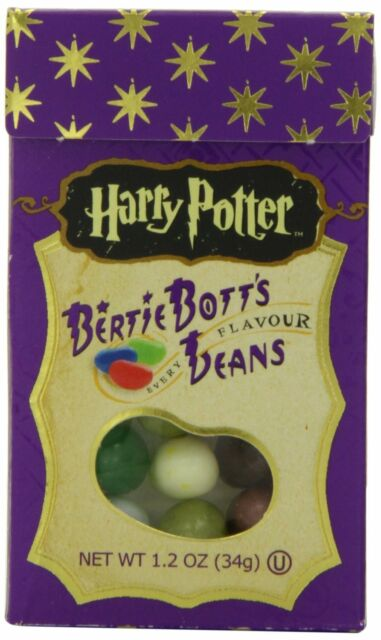 JELLY BELLY HARRY POTTER BERTIE BOTTS JELLY BEANS 34G PACK