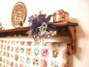 S10 Custom Made any size to 36 inch Quilt Rug Rack Hanger Shelf