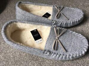 NEW NEXT Ladies Womens Grey White